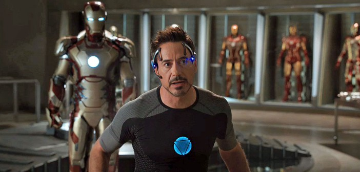 Iron Man 3 Robert Downey recensione
