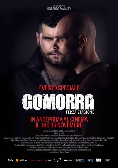 Gomorra Terza stagione al cinema
