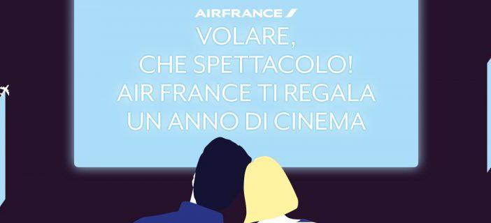 Gratis al cinema con Air France