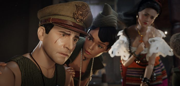 Benvenuti a Marwen: in the land of grey and pink