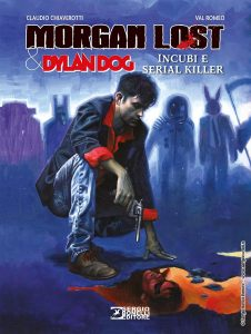 Morgan Lost Dylan Dog cover