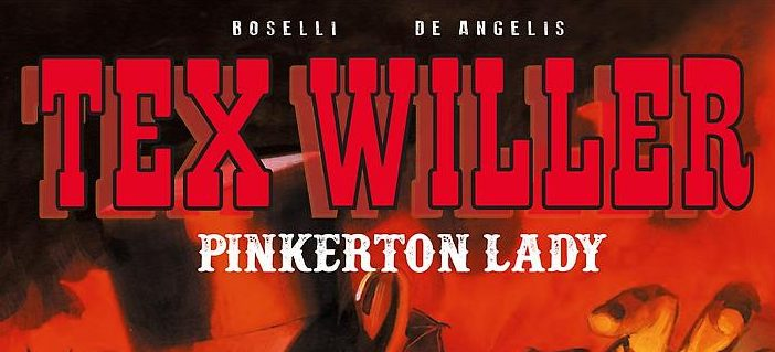 tex willer pinkerton lady