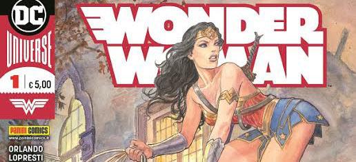 Wonder Woman arriva a Verona, disegnata da Milo Manara